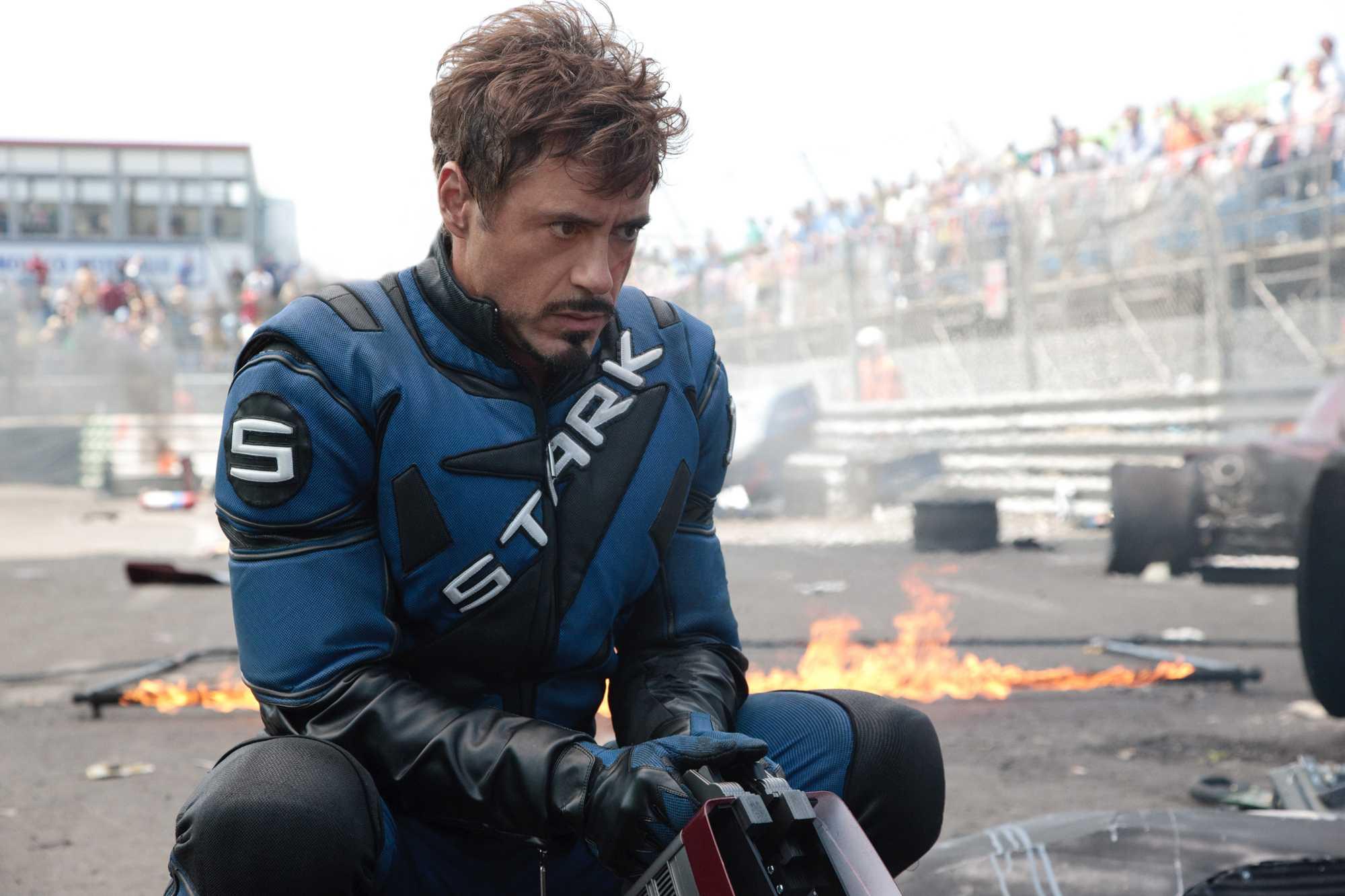 Tony Stark - Iron Man #2 Review - Comic Book Revolution  |Tony Stark Iron Man 2 Hair
